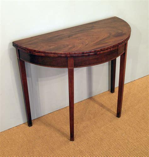 Tea Table by Antique Tea Table Antique Folding Table Georgain Tea Table Demi Lune Table Demilune Table