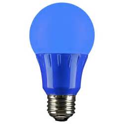 light led bulb blue led a19 120 volt e26 medium base light bulb