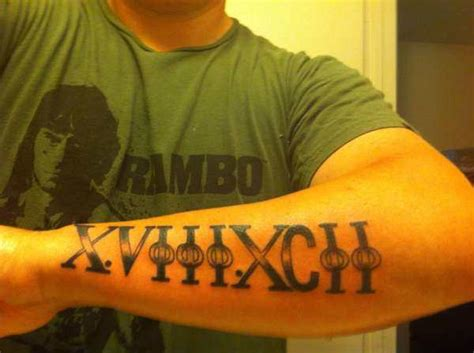 roman numeral tattoos designs ideas and meaning tattoos numeral forearm designs ideas and meaning