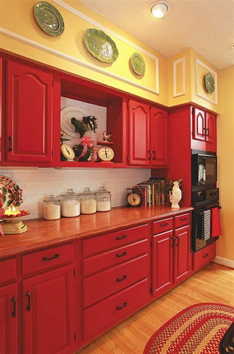 yellow kitchen cabinets what color walls colorful wall color to choose for your very personal