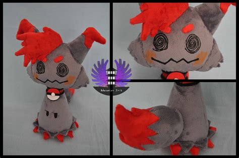 custom stuffed animals custom verlisify mimikyu plush by artesaniasiris on deviantart