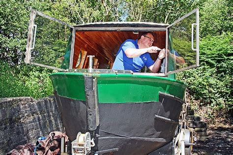 canal boat project rochdale news news headlines littleborough canal boat