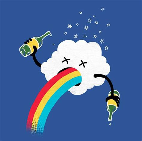 Clouds Tees cheeky cloud tees how rainbows are made t shirt