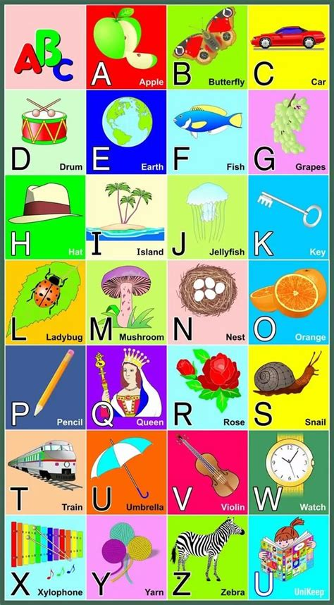 Alphabet Wallpaper For