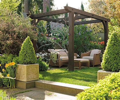 Backyard Landscaping Ideas Small Backyard Pergola Ideas