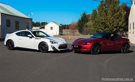Toyota Mx 2016 Mazda Mx 5 Vs Toyota 86 Comparison Track Test