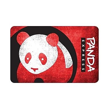 Panda Express Gift Cards - panda express gift card 25 staples 174