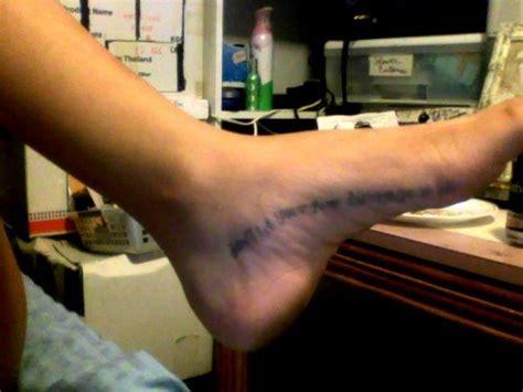 tattoo healing blurry blurry foot tattoo