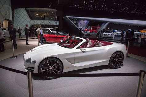 bentley geneva geneva motor show 2017 exotic car list