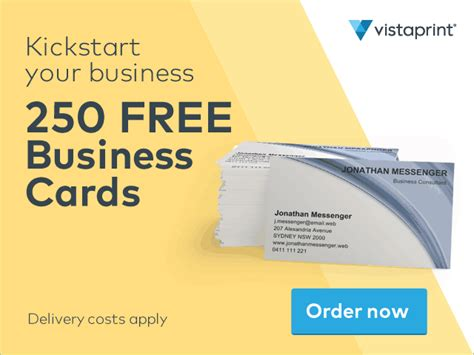 vista print card template business cards free vista images card design and card