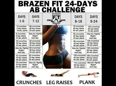 squats and abs challenge 30 day squat challenge part 3 brazen 24 day ab challenge