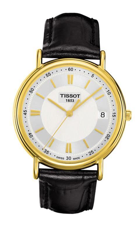 Tissot T0854102201100 Carson Quartz Silver Gold tissot t gold carson t907 410 16 031 00 switzerland