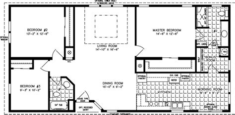Double Wide Mobile Homes Floor Plans large manufactured homes large home floor plans