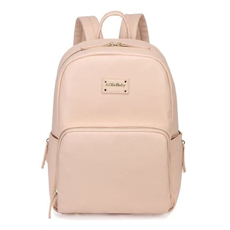 mens leather baby bag colorland stylish backpack faux