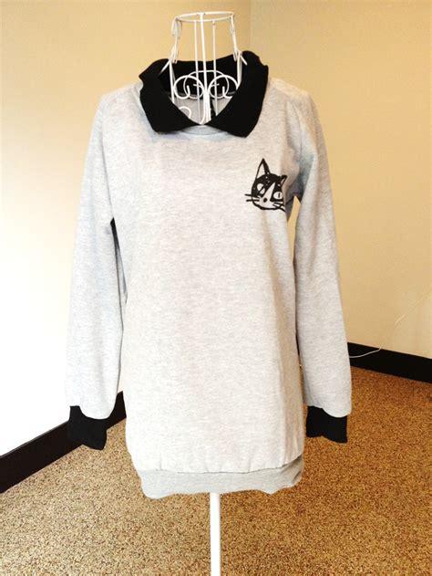Sweater Cat N fashionnfeverr cat logo sweater rm40