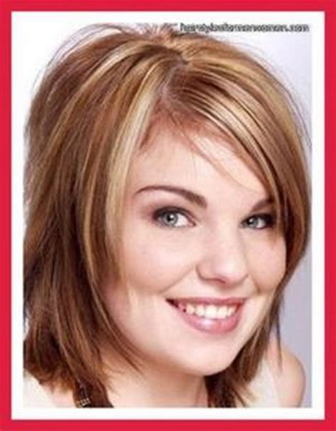 Medium Hairstyles For Plus Size Women Over 40 Short | short hairstyles for large women