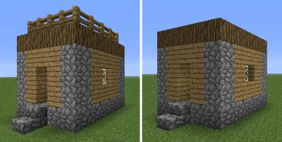 L Shaped Houses by Village Structures Minecraft Wiki