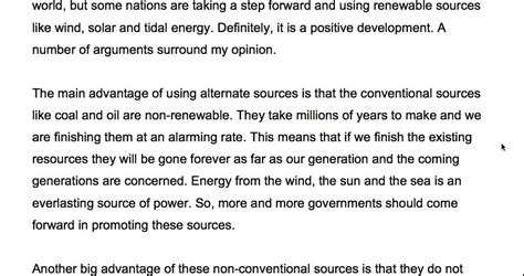 themes and sources long essay 218 alternative sources of energy ielts essay topic youtube