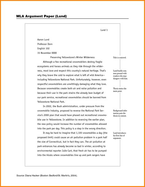 format in writing a research paper writing a research paper mla format