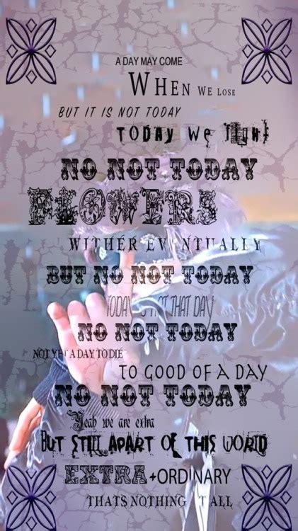 bts not today lyrics bts not today lyrics lockscreen tumblr