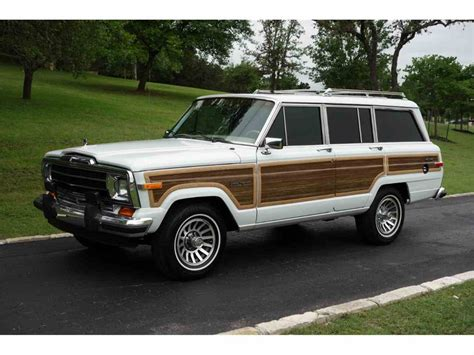 jeep wagoneer 1989 1989 jeep wagoneer for sale classiccars com cc 1001396