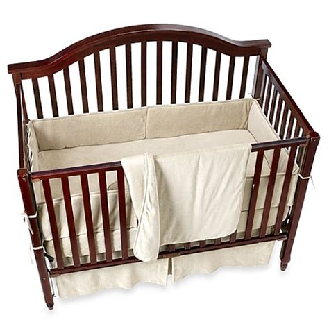 Organic Baby Bedding Crib Sets Organic Cotton Velour 4 Crib Set In Bed Bath Beyond
