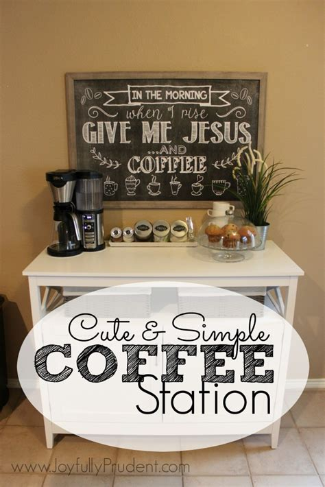 coffee station table santaconapp