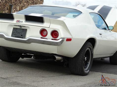 73 camaro split bumper 1973 z28 camaro 4speed split bumper