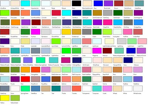all color 547 specifying colors by name in blend 2 000 things