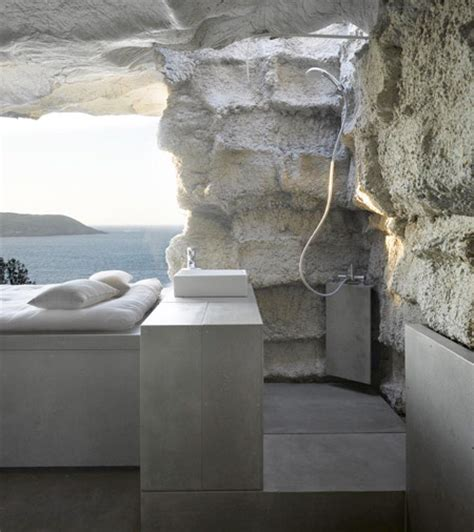 Cave Shower by Cave Inspired House