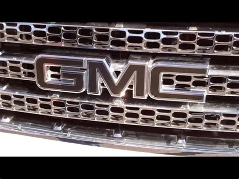 how to remove gmc emblem from grill abd gmc emblem installation