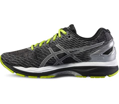 shoing gel asics gel nimbus 18 lite show s running shoes black silver buy it at the keller sports