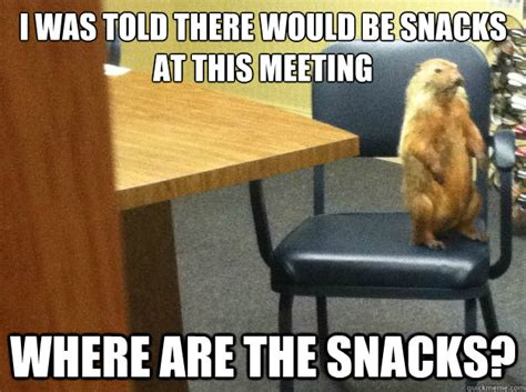 Office Meeting Meme - blog for nonprofit organization leaders envision