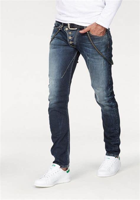 imp  imperial slim fit jeans bark set mit hosenkette