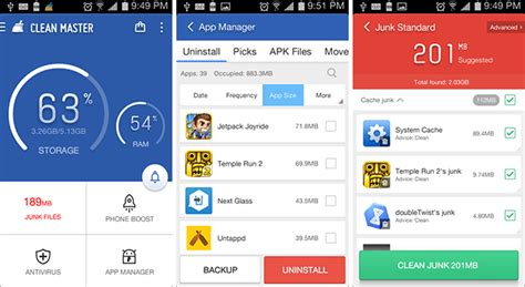 app cleaner for android 5 apps that really clean up your android device and aren t placebos