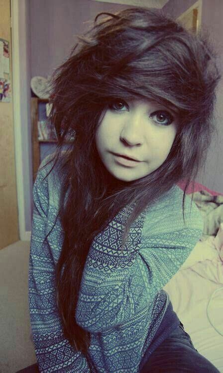 emo hairstyles without bangs emo bangs with curly hair google search hair