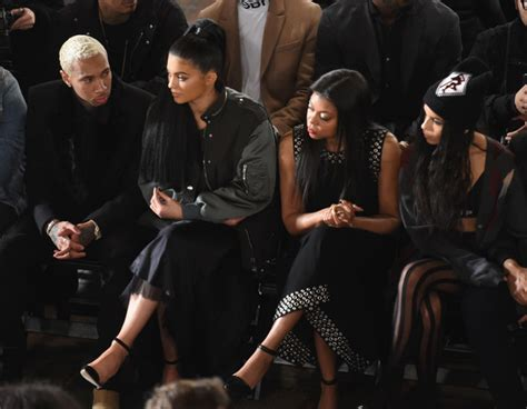 New York Fashion Week Front Row Zoe Hathaway Gisele And Co by Zoe Kravitz Photos Photos Wang Front Row