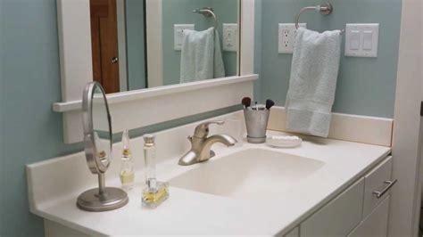 clean  bathroom sink  countertop youtube