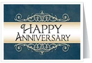 business anniversary message happy anniversary greeting card 1328 custom