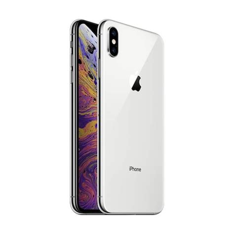 apple iphone xs max gb silver tradeline stores