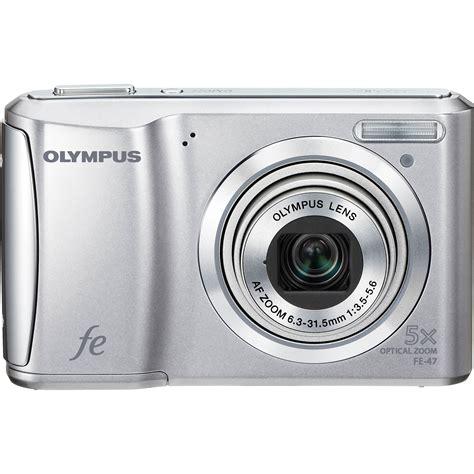 olympus digital olympus fe 47 digital silver 227730 b h photo