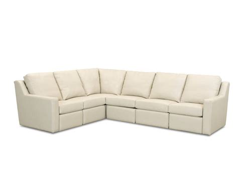 Leather Sectional Sofas With Recliners Comfort Design South Ii Reclining Sectional Clp282