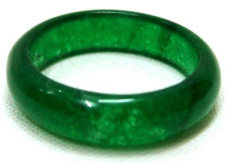 dark jade chinese dark green jade ring