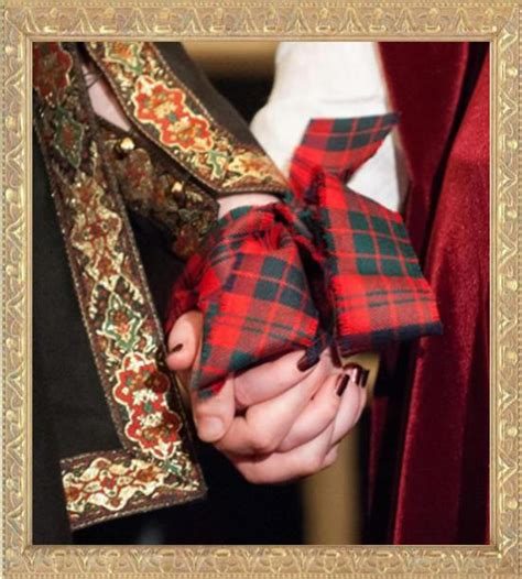 Wedding Ceremony Handfasting by Handfasting In The Scottish Tradition
