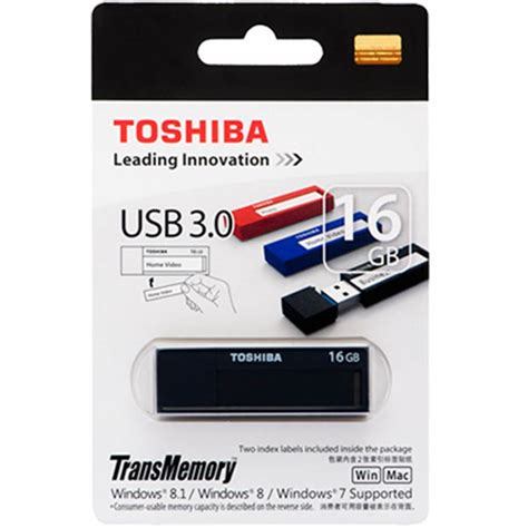toshiba daichi usb flash drive 3 0 16gb v3dch 016g black jakartanotebook