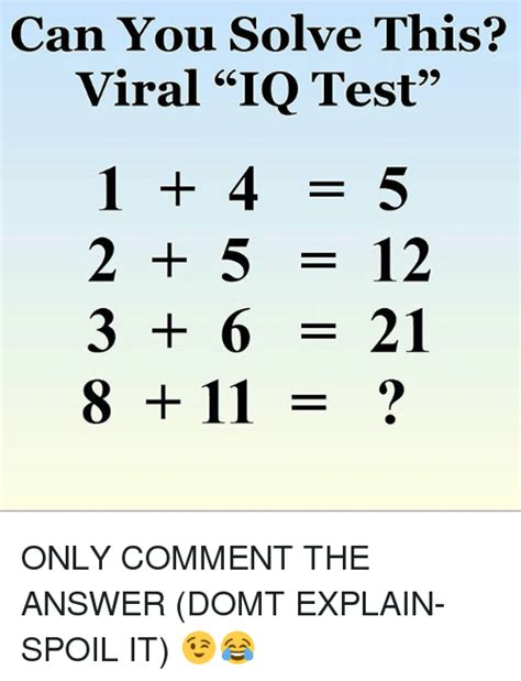 Me This 2 by Can You Solve This Viral Iq Test 1 4 5 2 5 12 3 6