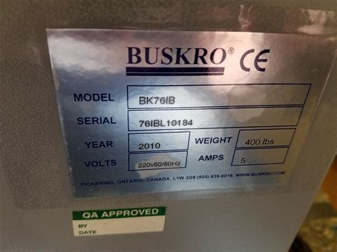 Mailstar 500 Pinnacle Buskro Bk76ib For Sale