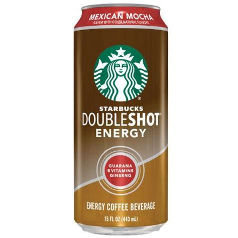 Starbucks DoubleShot Energy Mexican Mocha   15 Ounces