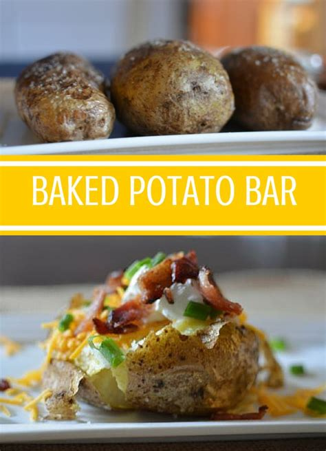toppings for baked potato bar the 25 best baked potato bar ideas on pinterest potato