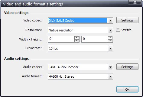 format audio codec vsdc free screen recorder lets you record any part of your
